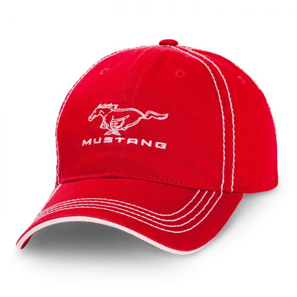 Ford Mustang Cap Red