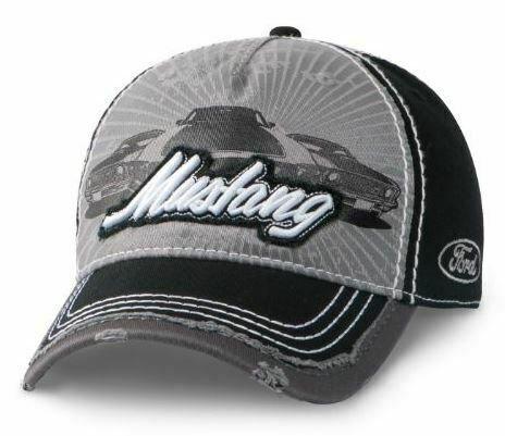 Ford Mustang Cap Frayed Style